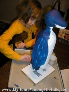 Making a penguin
