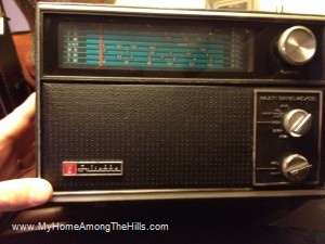 Juliette shortwave radio