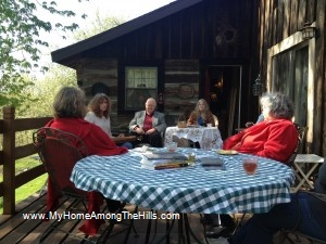 Mountain Stories at the house concert