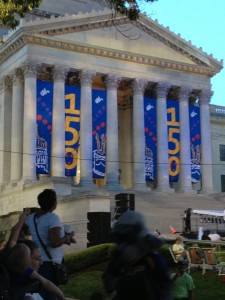 WV Sesquicentennial celebration