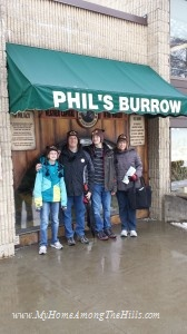 Phil's burrow