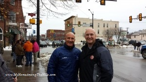 Me with Jim Cantore