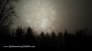 Groundhog day fireworks