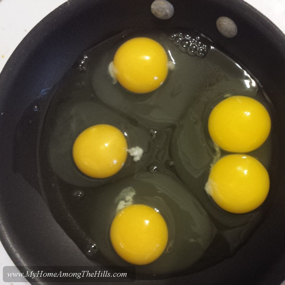 A double yolker among the bunch
