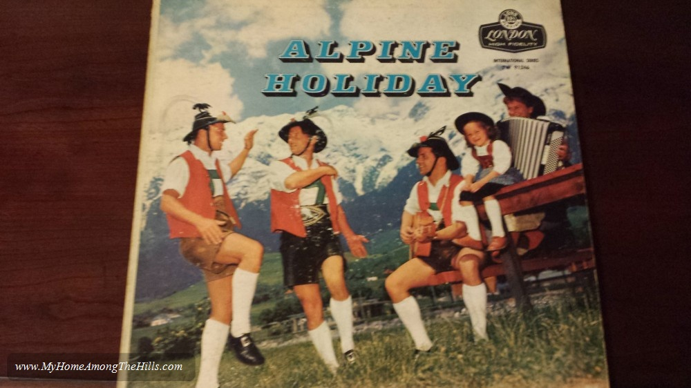 Awesome record I found...Alpine Holiday!