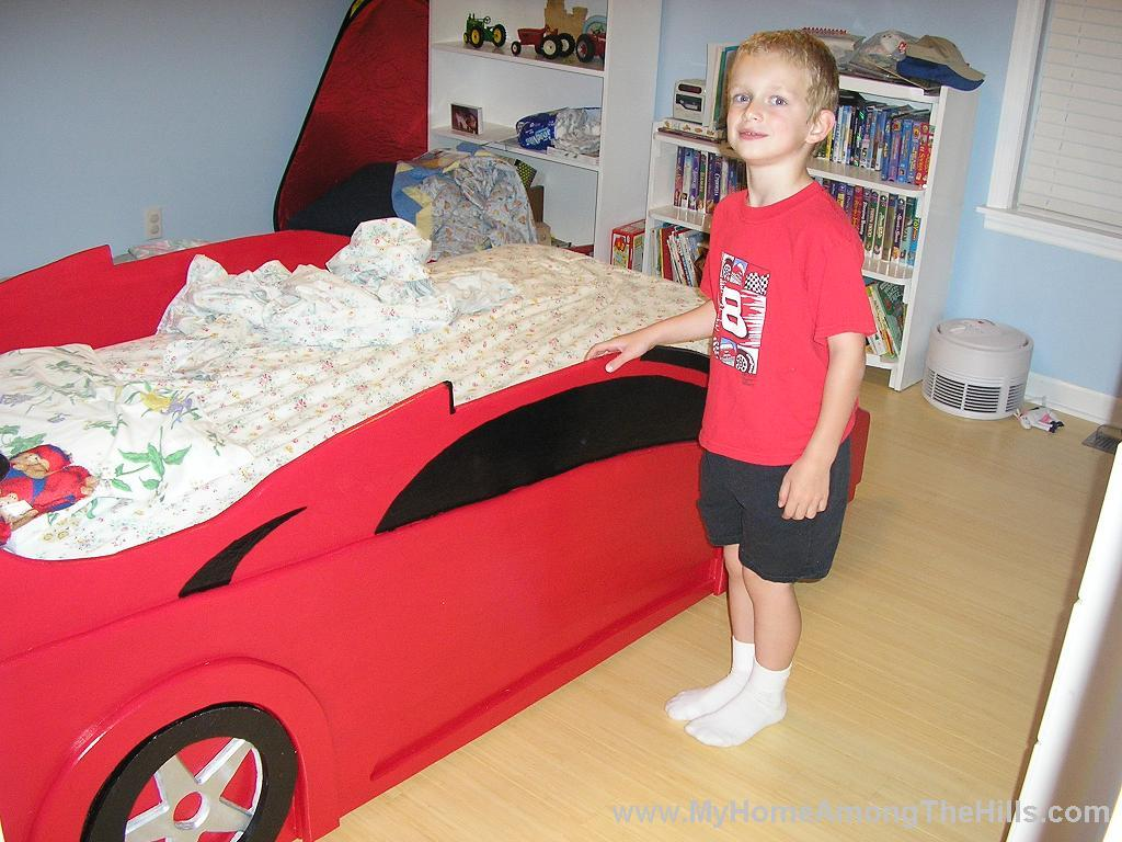 Diy Race Car Bed Plans Plansdownload