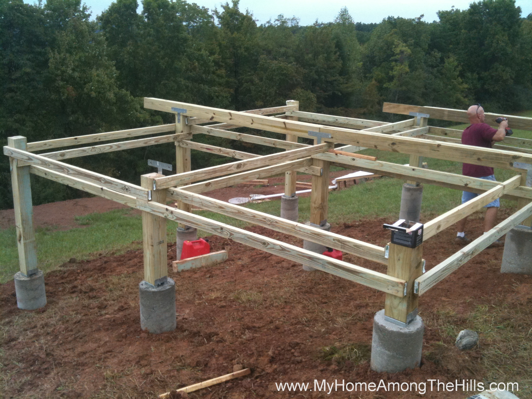 8x12 shed home depot how to build a shed pier foundation for How to build a pier foundation
